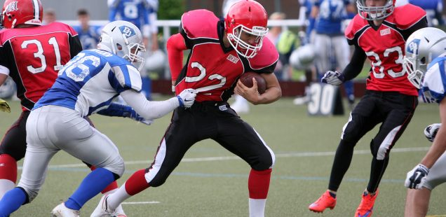 GFL Juniors Marburg Mercenaries - Darmstadt Diamonds