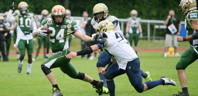 Montabaur Fighting Farmers - Mainz Golden Eagles